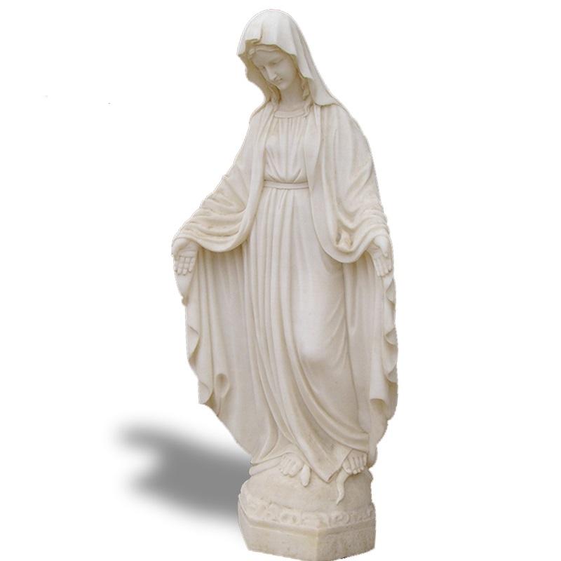 Скульптура из мрамора: Статуя Девы Марии-01