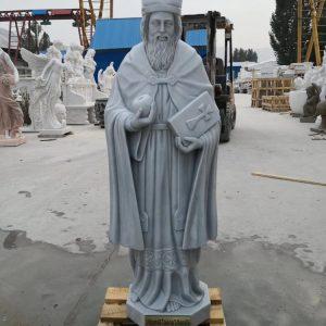 Скульптура из мрамора: Статуя священника-01