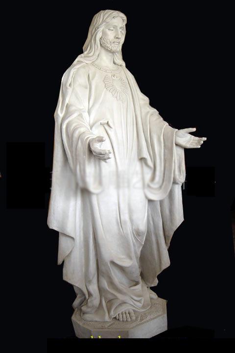 Скульптура из мрамора: Статуя священника