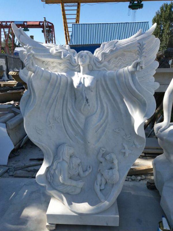 Скульптура из мрамора: Статуя ангела-04