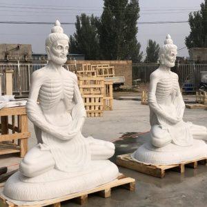 Скульптура из мрамора: Статуя Будды