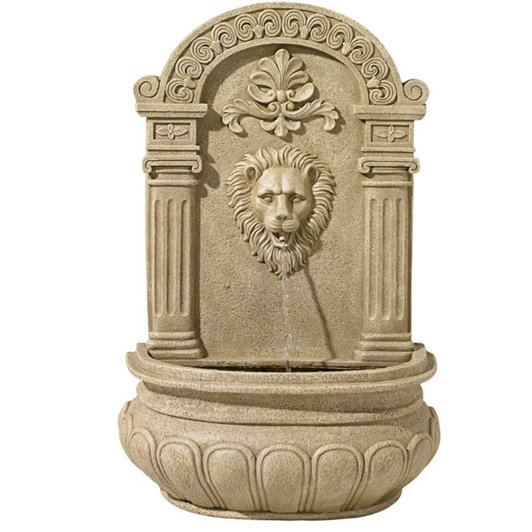 Фонтан из мрамора: Настенный фонтан-04