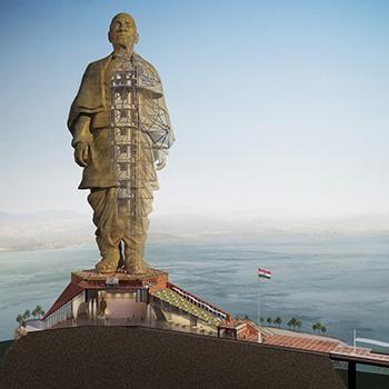 Мировые большие статуи и памятники
