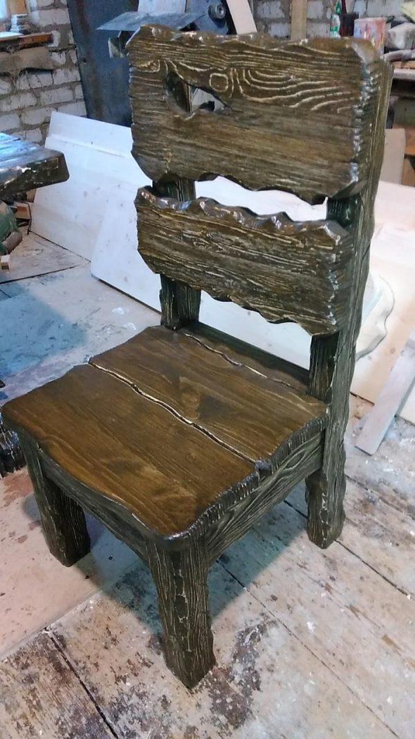 Деревянная мебель: Стилизованный стул