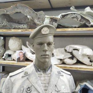 """Бюст на заказ: Портретный бюст бойца """"6 роты"""". Бюст солдата-1"""
