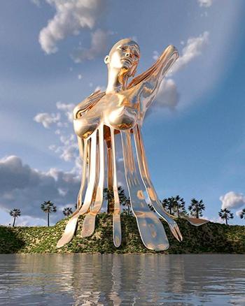 Необычные статуи и фигуры