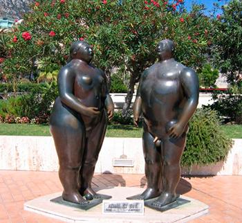 Оригинальные и странные скульптуры