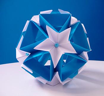 Большие фигуры оригами на заказ