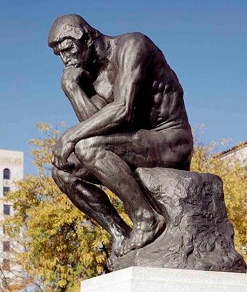 """Скульптуры """"Мыслитель"""""""