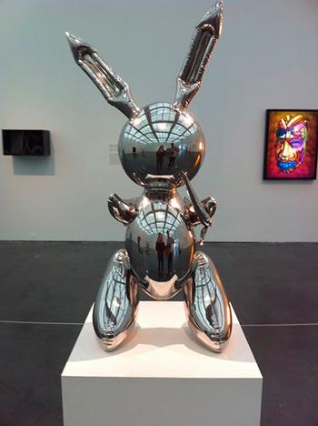 Статуя кролика