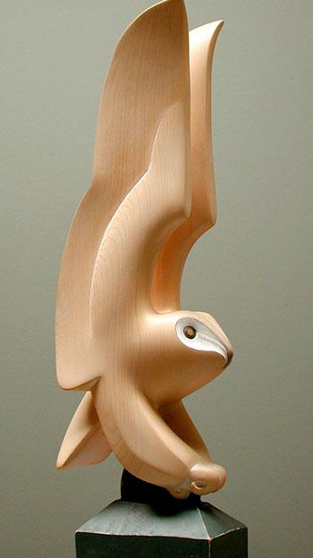 Фигуры из керамики и дерева