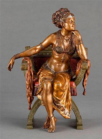 Скульптуры из литейной бронзы