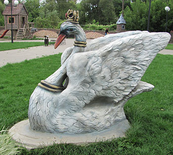 Красивые скульптуры из бетона