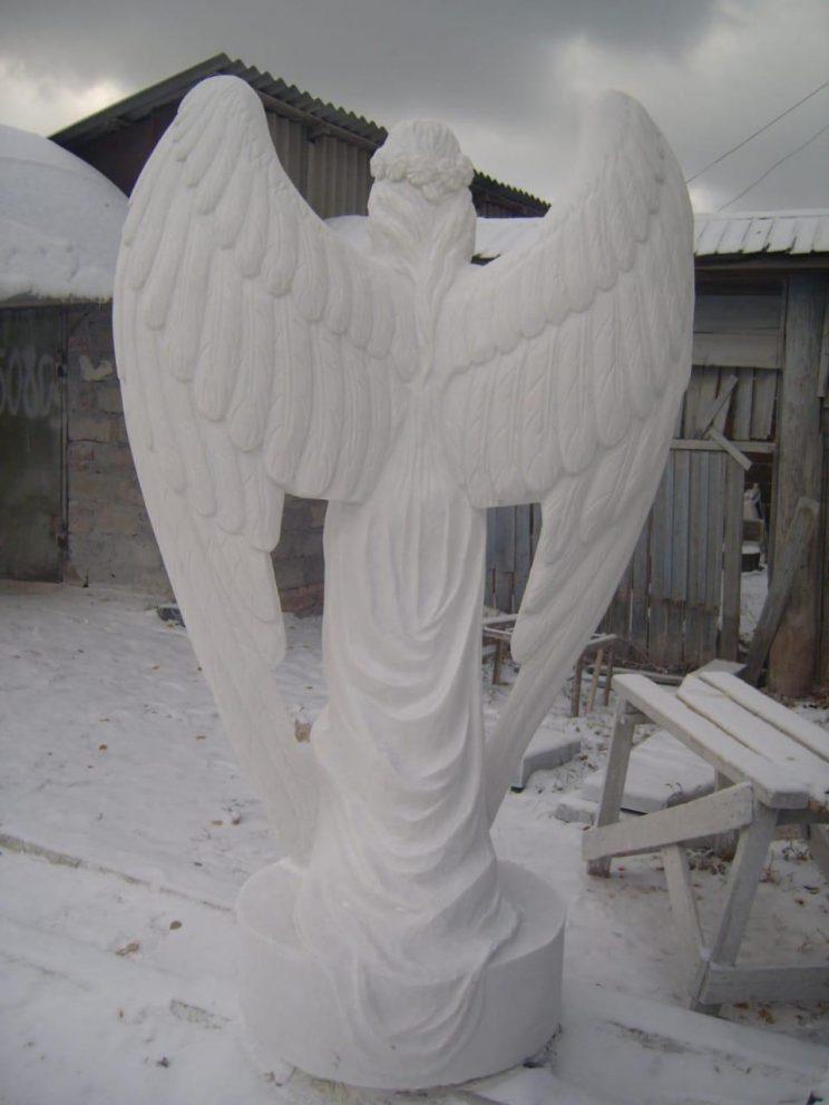 Скульптура из мрамора: Ангел - 02