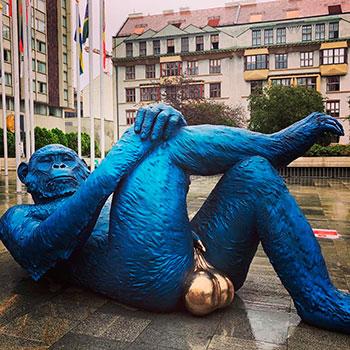 Чешские статуи