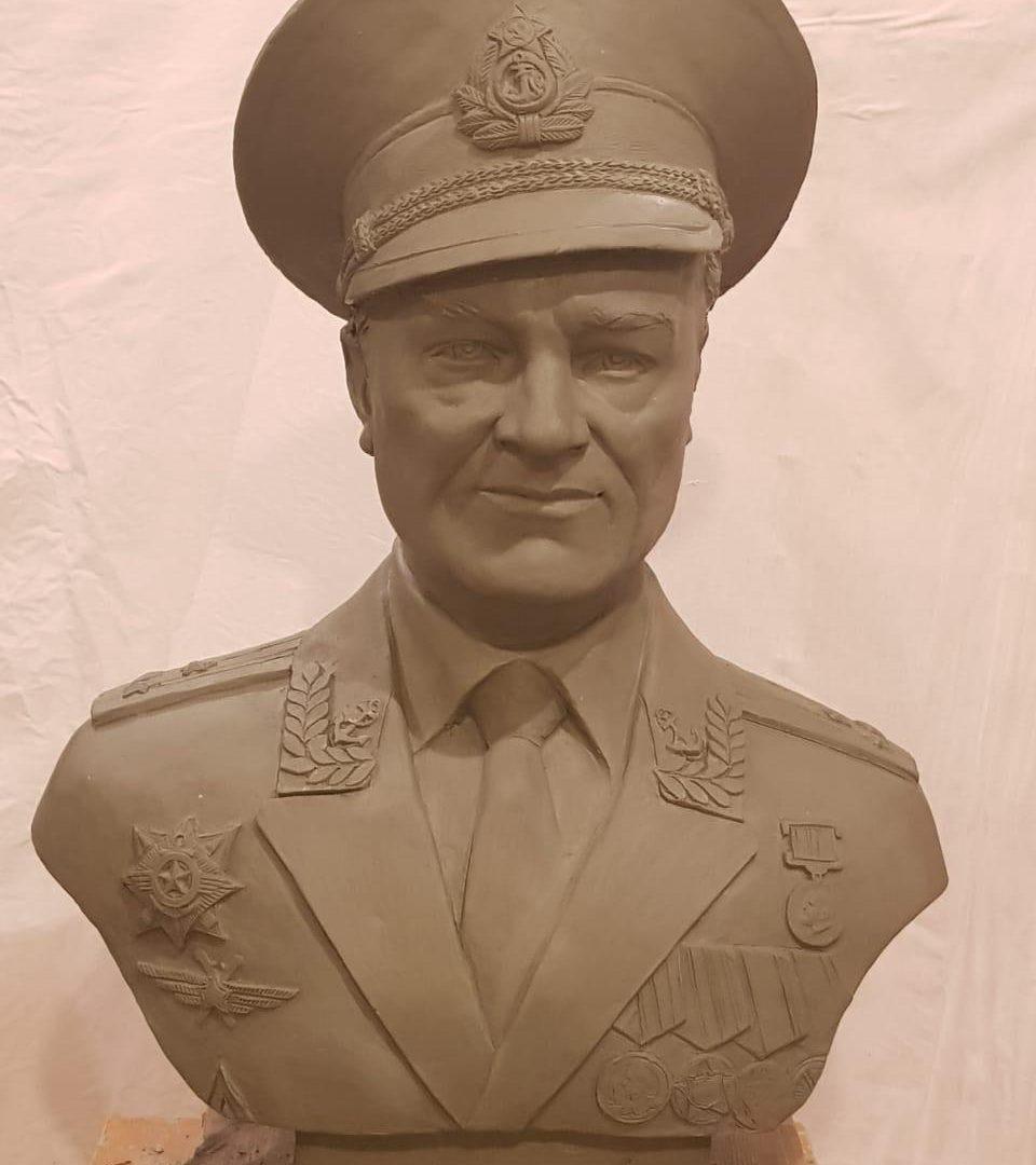Бюст на заказ: Полковник ВМФ, Капитан первого ранга