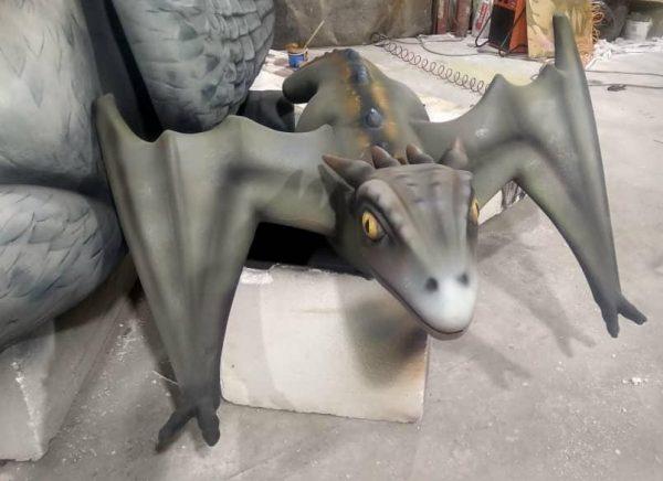 Скульптура из стеклопластика: Дракон