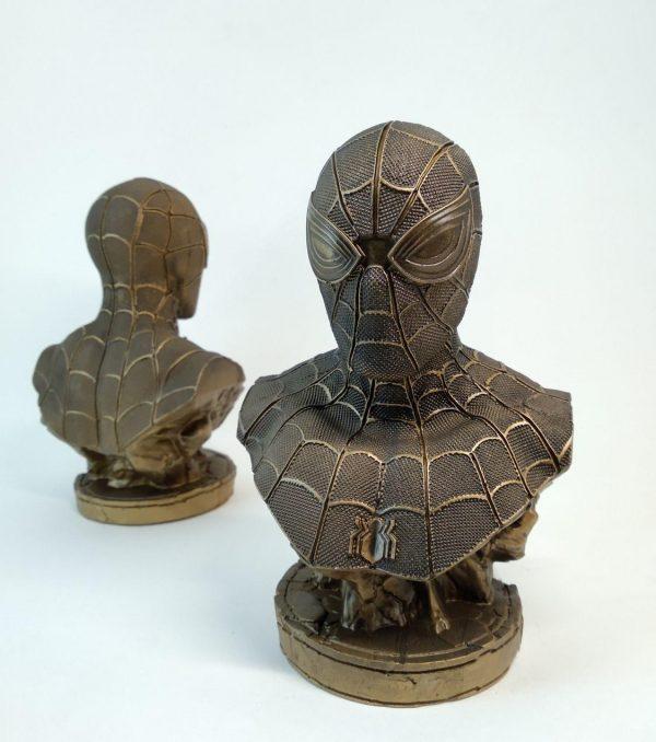 """Бюст из гипса: Бюст """"Человек-паук"""". Вселенная Marvel."""