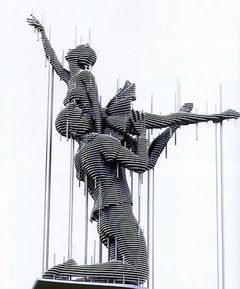 Фигуры из металла