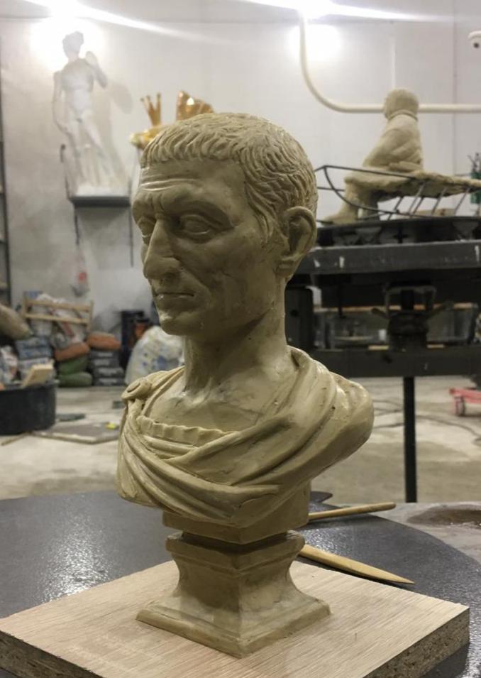 Бюст на заказ: Цезарь