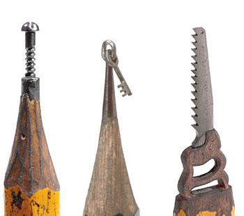 Фигуры из карандашей