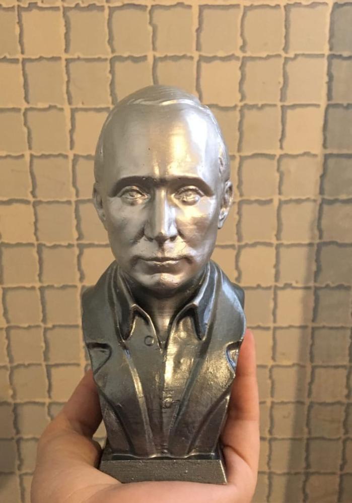 Бюст на заказ: В.В. Путин