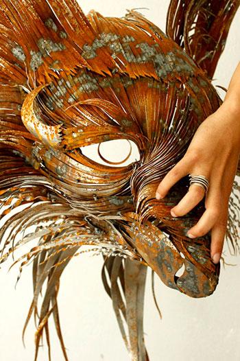 Скульптуры из стали