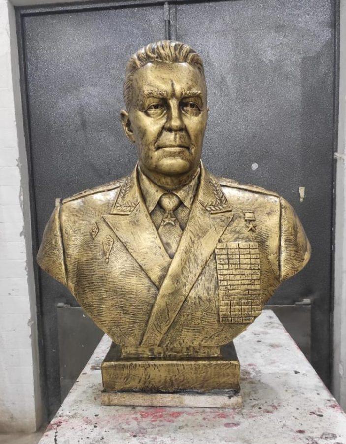 Бюст на заказ: Бюст Василия Филипповича Маргелова