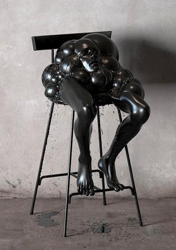 Монохромные скульптуры
