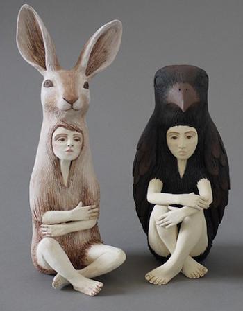 Статуи из керамики