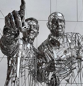 Скульптуры из нержавеющей стали