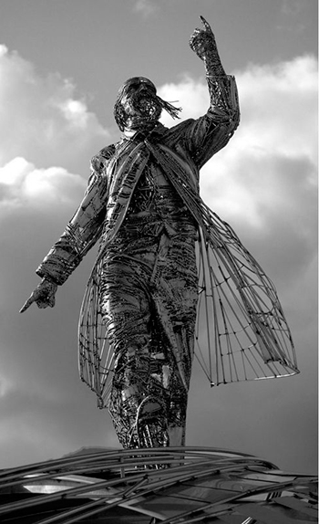 Статуи из нержавейки на заказ