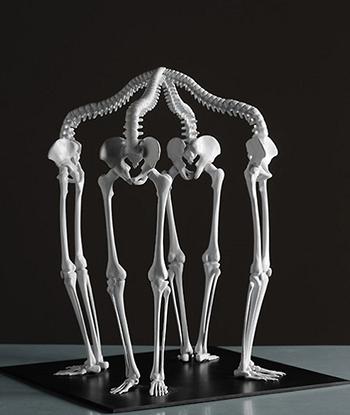 Скульптуры из костей