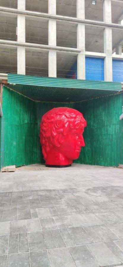 """Скульптура: Античная голова """"Антиной"""""""
