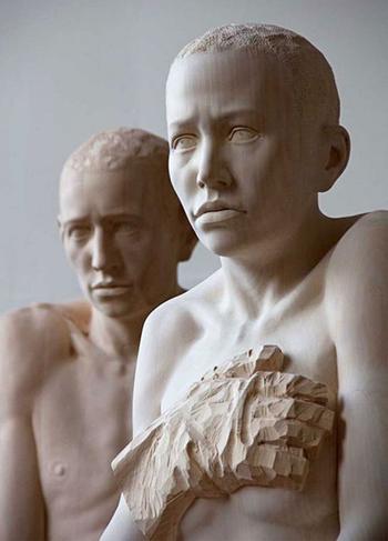 Оригинальные скульптуры из дерева