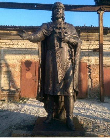 Бронзовая скульптура: Памятник великому князю Владимиру