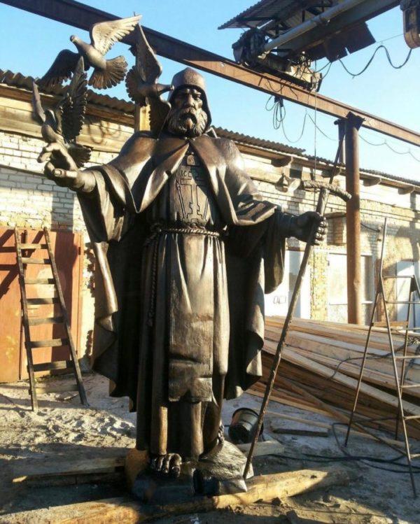 Бронзовая скульптура: Памятник Патриарху - Иннокентию Московскому