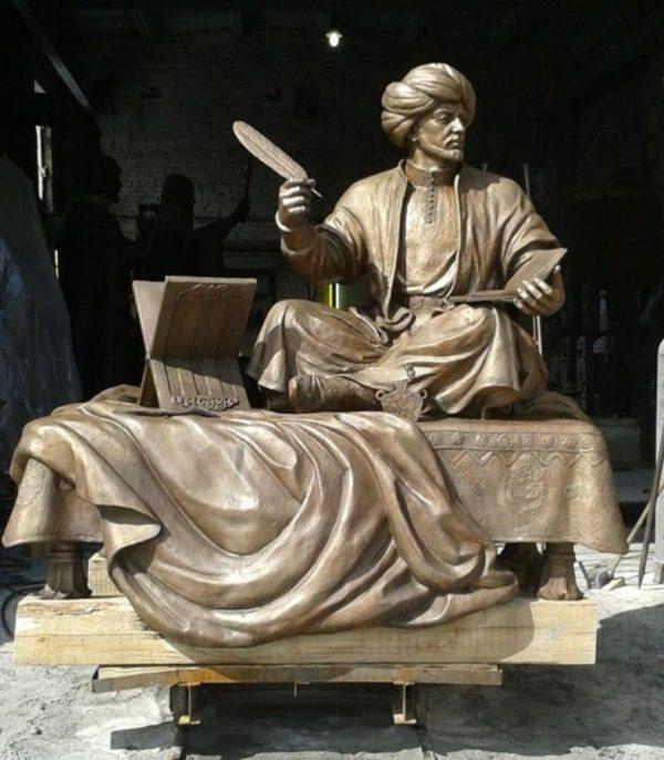 Бронзовая скульптура: Памятник восточному мудрецу