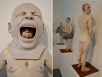 Реальные статуи