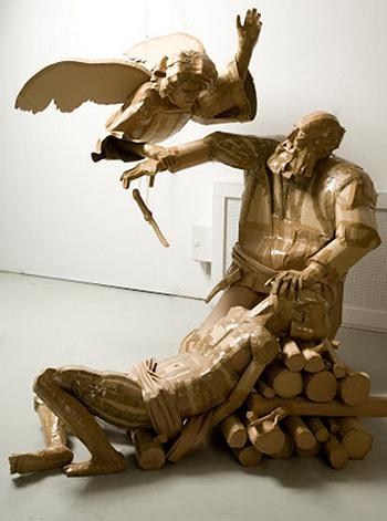 Недорогие бумажные статуи