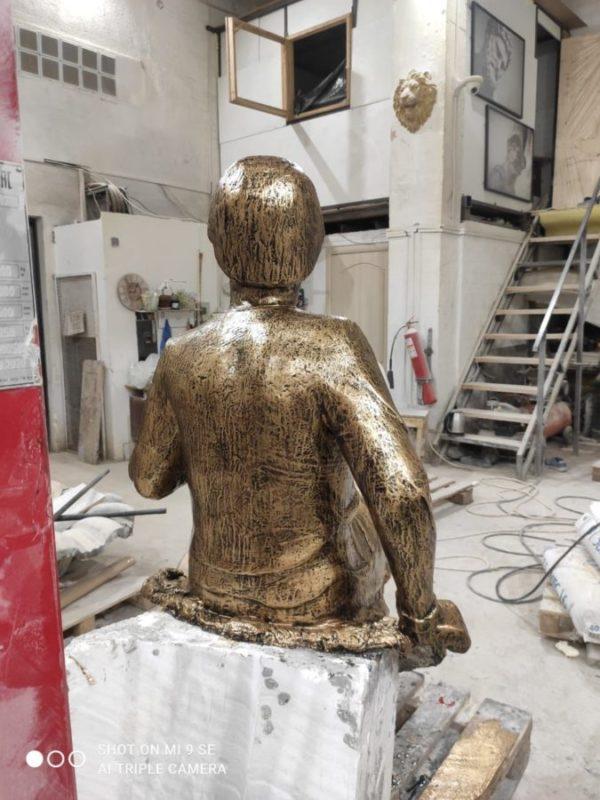 Скульптура: Молодой Михаил Васильевич Ломоносов