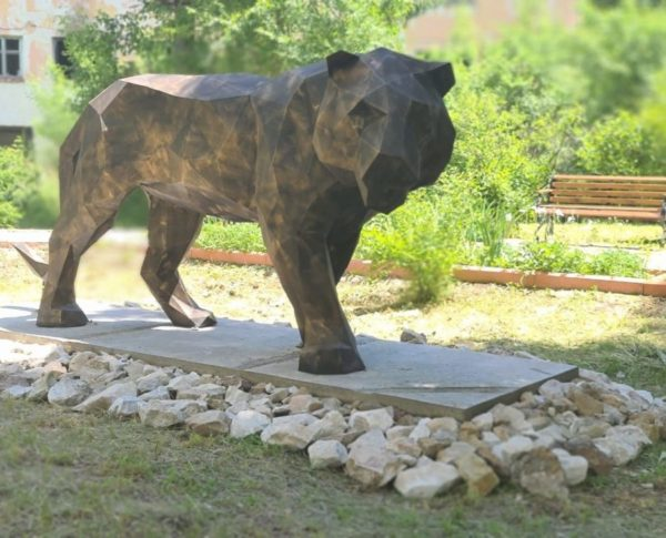 "Скульптура: ""Тигр"""