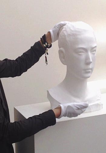 Бумажные красивые скульптуры