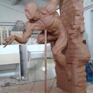 Скульптура: Человек-паук