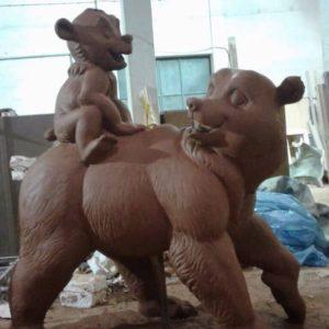 Скульптура: Медведи