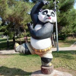 Скульптура: Панда
